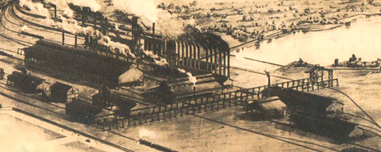 Tata Steel's plant was set up near the remote village of Sakchi in 1907