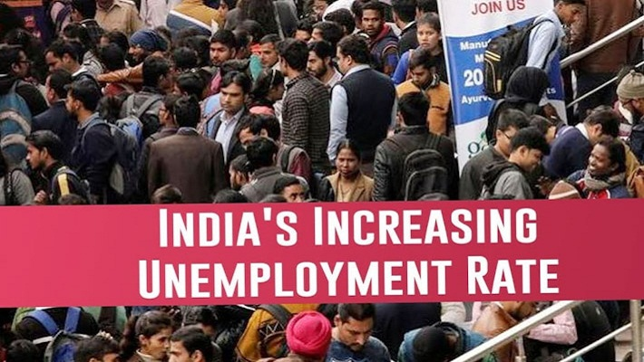 Why India's Unemployment Rate is rising?