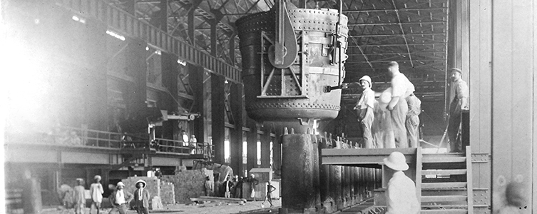 The first ingot was rolled out of the Tata Steel plant in 1912