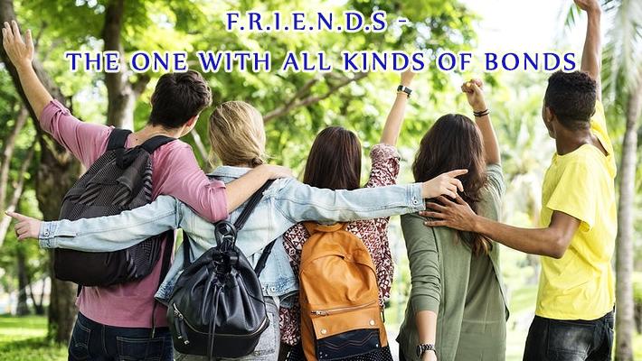 F.R.I.E.N.D.S - The One with all Kinds of Bonds